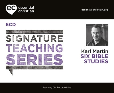 Signature Teaching Series: Six Bible Studies CD (CD-Audio)