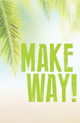 Make Way! Images Palm Sunday Bulletin (Pkg of 50) (Bulletin)