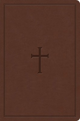 KJV Study Bible, Personal Size, Brown (Imitation Leather)