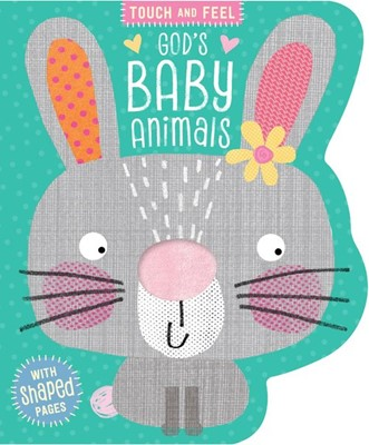 God's Baby Animals (Board Book)