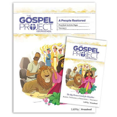 Gospel Project: Preschool Activity Pack, Winter 2020 (Kit)