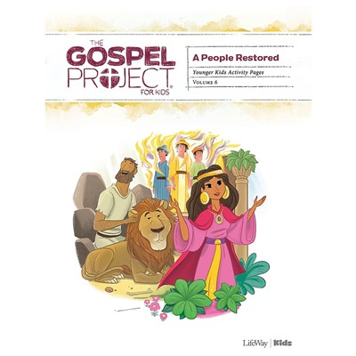 Gospel Project: Younger Kids Activity Pages, Winter 2020 (Paperback)