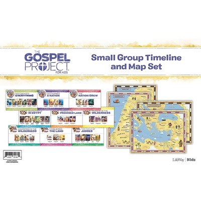 Gospel Project: Kids Small Group Timeline and Map (Kit)