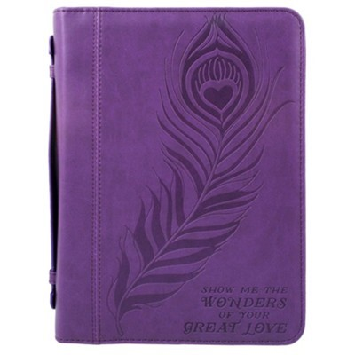 Bible Cover Great Love Imitation Leather, Large (Bible Case)
