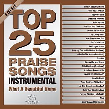 Top 25 Praise Songs Instrumental CD (CD-Audio)