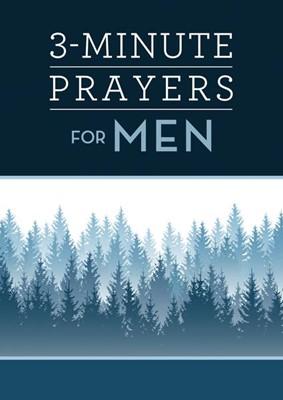 3-Minute Prayers for Men (Paperback)