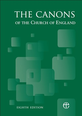 The Canons of the Church of England 8th Edition (Paperback)