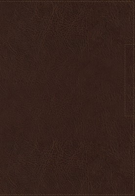 NKJV Lucado Encouraging Word Bible, Brown, Indexed (Imitation Leather)