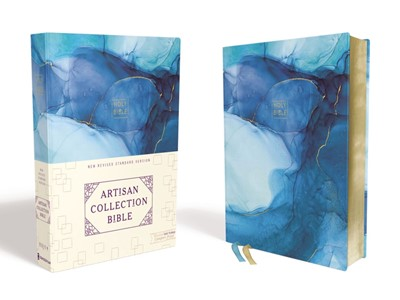 NRSV Artisan Collection Bible, Blue (Hard Cover)