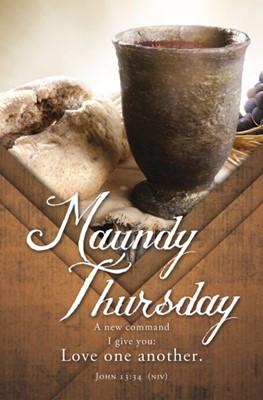 Maundy Thursday Bulletin (pack of 100) (Bulletin)