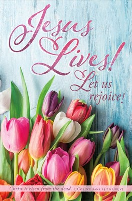 Jesus Lives! Easter Bulletin (pack of 100) (Bulletin)