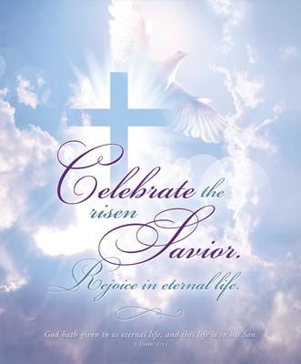 Celebrate the Risen Savior Easter Bulletin Lgl (pack of 100) (Bulletin)