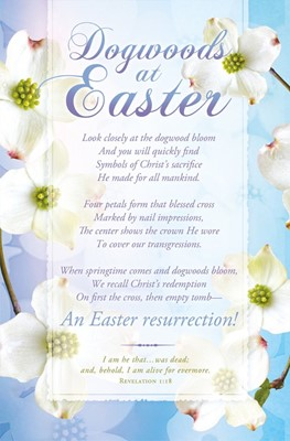 Dogswood at Easter Bulletin (pack of 100) (Bulletin)