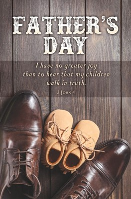 Father's Day Bulletin (pack of 100) (Bulletin)