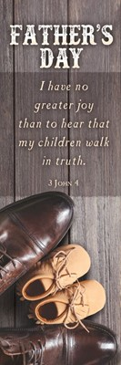 Father's Day Bookmark (pack of 25) (Bookmark)