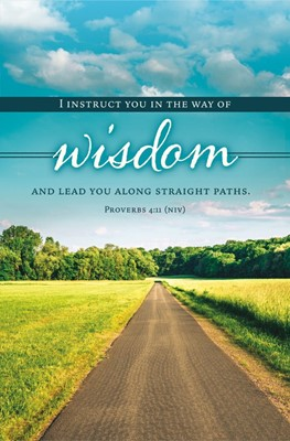 I Lead You Along Straight Paths Bulletin (pack of 100) (Bulletin)