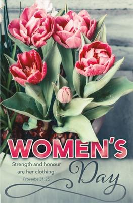Women's Day Bulletin (pack of 100) (Bulletin)