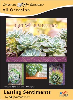 Boxed Cards - Lasting Sentiments (pack of 12) (Cards)
