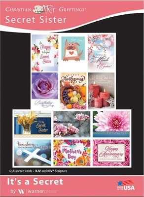 Boxed Cards - It's a Secret (pack of 12) (Cards)