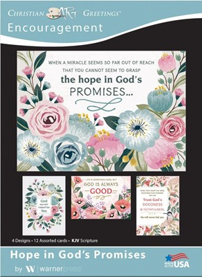 Boxed Cards - Words of Hope Encouragement (pack of 12) (Cards)