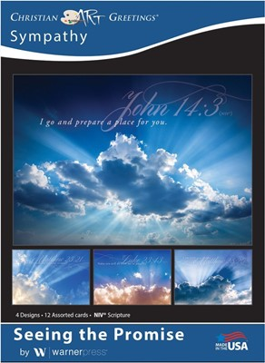 Boxed Cards - Seeing the Promise Sympathy (pack of 12) (Cards)