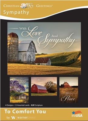 Boxed Cards - To Comfort You Sympathy (pack of 12) (Cards)