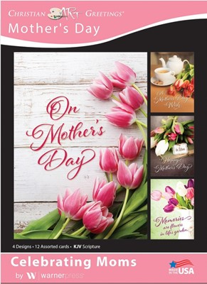 Boxed Cards - Celebrating Moms (pack of 12) (Cards)