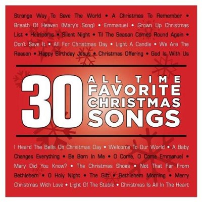 30 All Time Favorite Christmas Songs CD (CD-Audio)