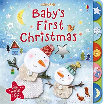 Baby's First Christmas with CD (Board Book)