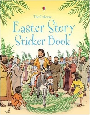 Easter Story Sticker Book (Paperback)