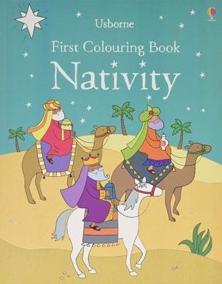 Nativity First Colouring Book (Paperback)