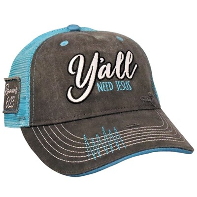 Y'all Need Jesus Grace & Truth Cap (General Merchandise)