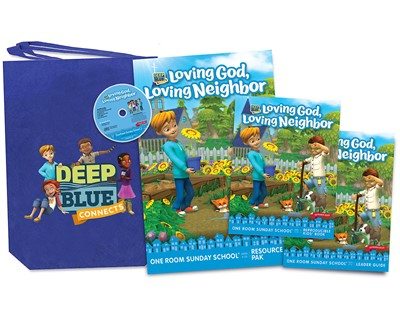 Deep Blue Connects One Room Sunday School Summer 2020 Kit (Kit)