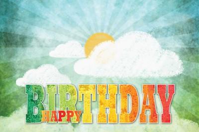 Celebrate Wonder Happy Birthday Postcard (Pkg of 25) (Postcard)