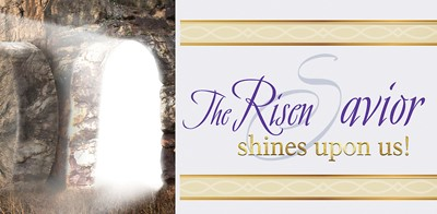 Risen Savior Sunrise Easter Offering Envelope (Pkg of 50) (Bulletin)
