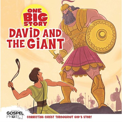David and the Giant (Board Book)