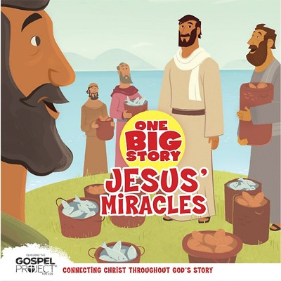 Jesus' Miracles (Board Book)