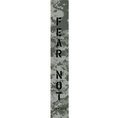 Fear Not Digital Camo Guitar Strap (General Merchandise)