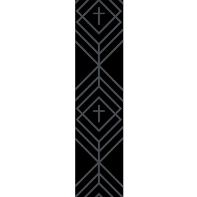 Diamond Cross Guitar Strap (General Merchandise)