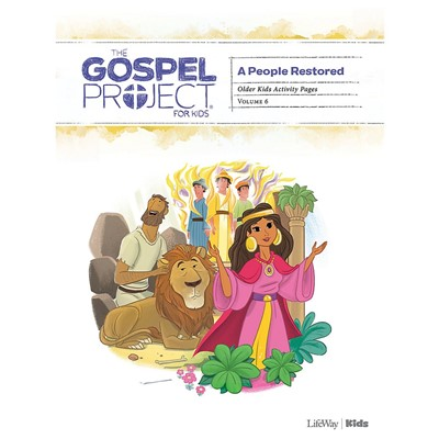 Gospel Project: Older Kids Activity Pages, Winter 2020