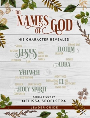 The Names of God Leader Guide (Paperback)
