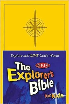 NKJV Explorer'sBible for Kids (Hard Cover)