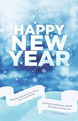 Happy New Year Bulletin (Pack of 100) (Bulletin)