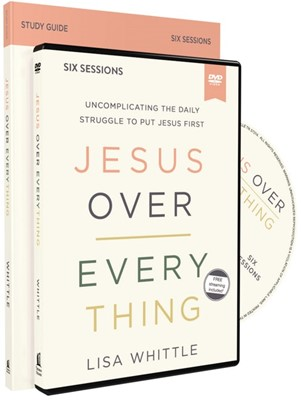 Jesus Over Everything Study Guide with DVD (Kit)