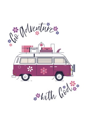 Go Adventure (Flowers) Mini Card (Cards)
