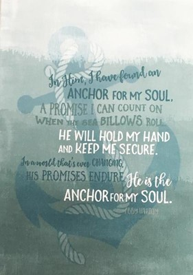 Anchor For My Soul Mini Card (Cards)
