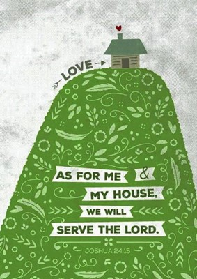 As For Me - Hill and House A6 Card (General Merchandise)