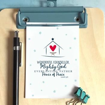 Star & Stable Christmas Mini Card (Cards)