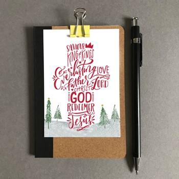 King of Kings Christmas Mini Card (Cards)