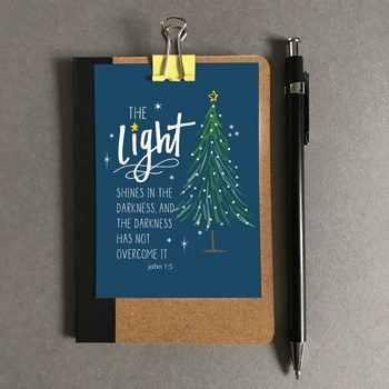 The Light Christmas Mini Card (Cards)